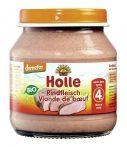 Holle Bio húsos bébiétel, marhahús bébiétel 125 g -- készlet erejéig, a termék lejárati ideje: 2021 májusa