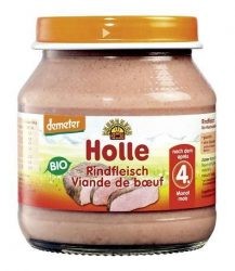 Holle Bio húsos bébiétel, marhahús bébiétel 125 g