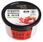 Organic Shop Epres yoghurt test mousse 250 ml
