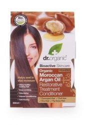 Dr. Organic Bio Argán olaj, Regeneráló hajpakolás 200 ml