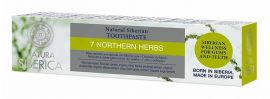 """Natura Siberica """"7 Northern Herbs"""" Flouridmentes 7 gyógynövényes  fogkrém 100 g"""
