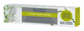 """Natura Siberica """"7 Northern Herbs"""" Flouridmentes 7 gyógynövényes  fogkrém 100 g -- NetbioHónap 2019.09.26-ig 20% kedvezménnyel"""
