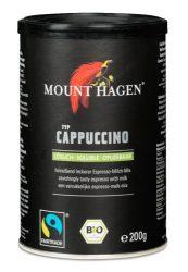 Mount Hagen Bio cappuccino, Fair Trade termék, dobozos, instant 200 g